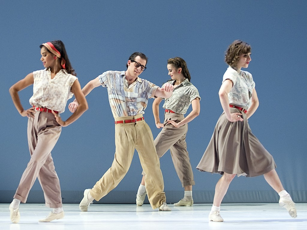 Paul Taylor American Dance: Company B. Photo Gene Schiavone.