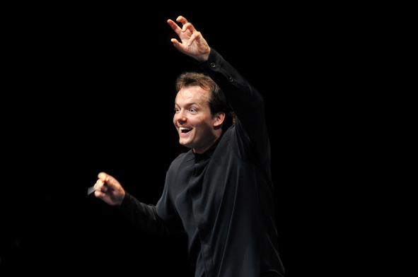 Andris Nelsons, Boston's Problem Child? Photo Chris Lee.