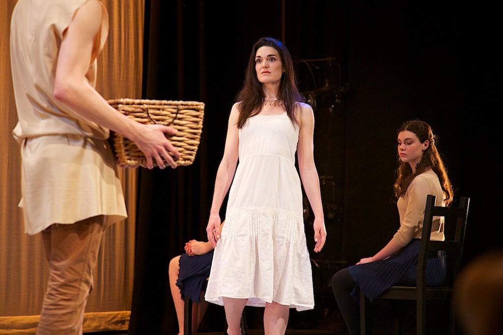Simone Oppen as the Prophetess. Photo Joe Ritter.