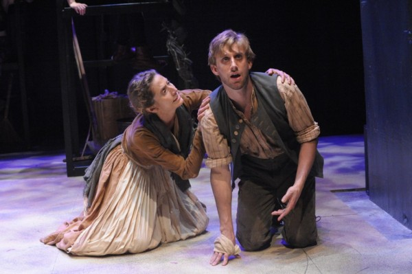 Kathleen Wise as Margery and Bill-Army in Jack-in-Vinegar Tom.