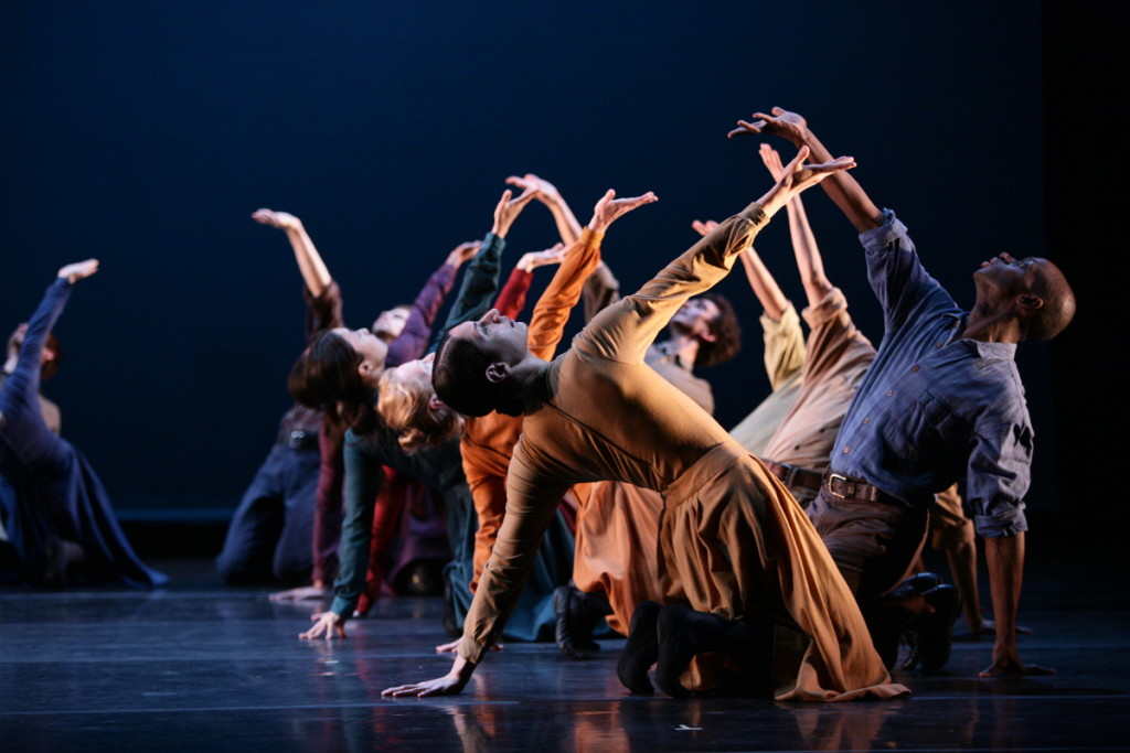 Limón Dance Company: Brenna-Monroe-Cook-and-Kurt-Douglas in The Traitor. Photo-Scott-Groller.