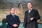 Andy Nyman and David Morrissey in Hangmen at Wyndhams Theatre. Photo Tristram Kenton.
