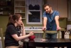Vanessa Vache as Amber and Alex Grubbs as Jim. Photo Russ Rowland.