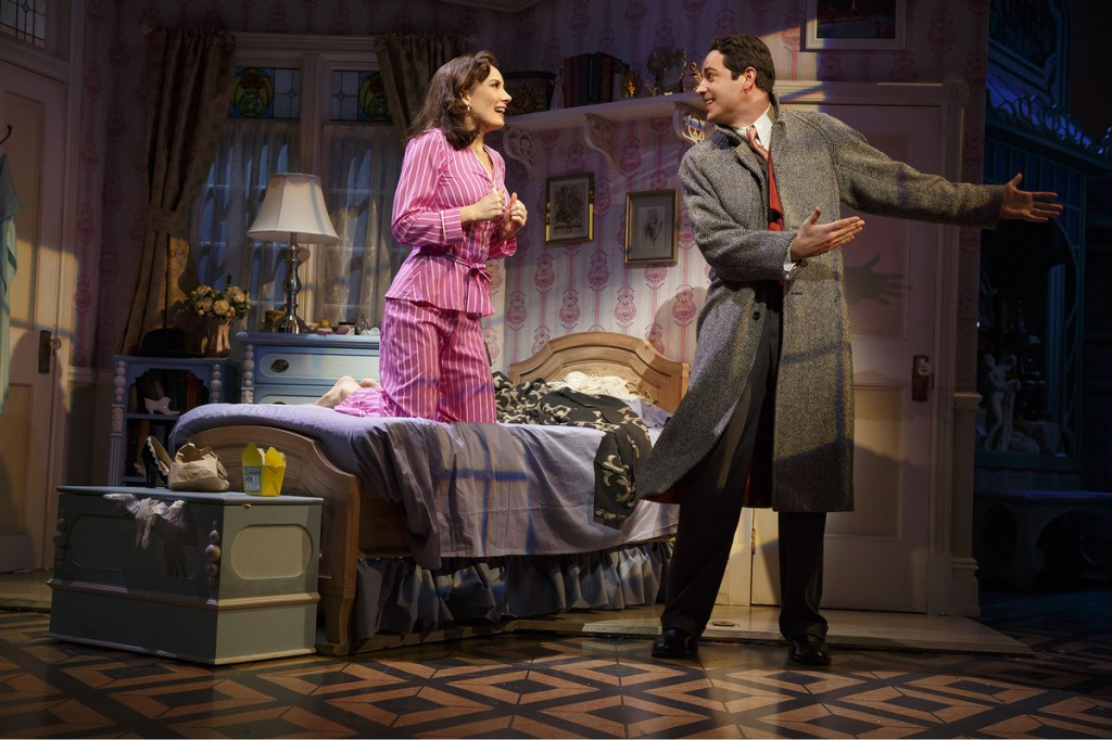 Laura Benanti and Zachary Levi in She Loves Me. Photo Joan Marcus.