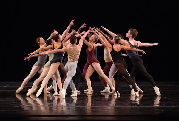 Jerome Robbins' Moves from Julliard Dances Repertory 2016. Photo ©Rosalie O'Connor.
