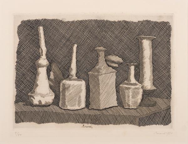 Giorgio Morandi, Natura morta a grandi segni, 1931