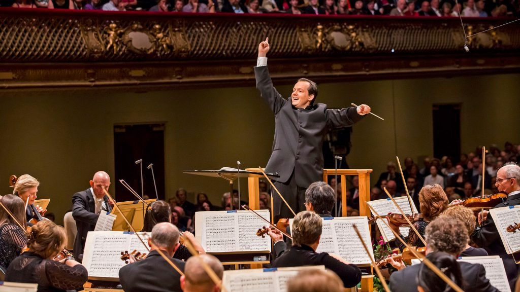 Andris Nelsons conducts the BSO