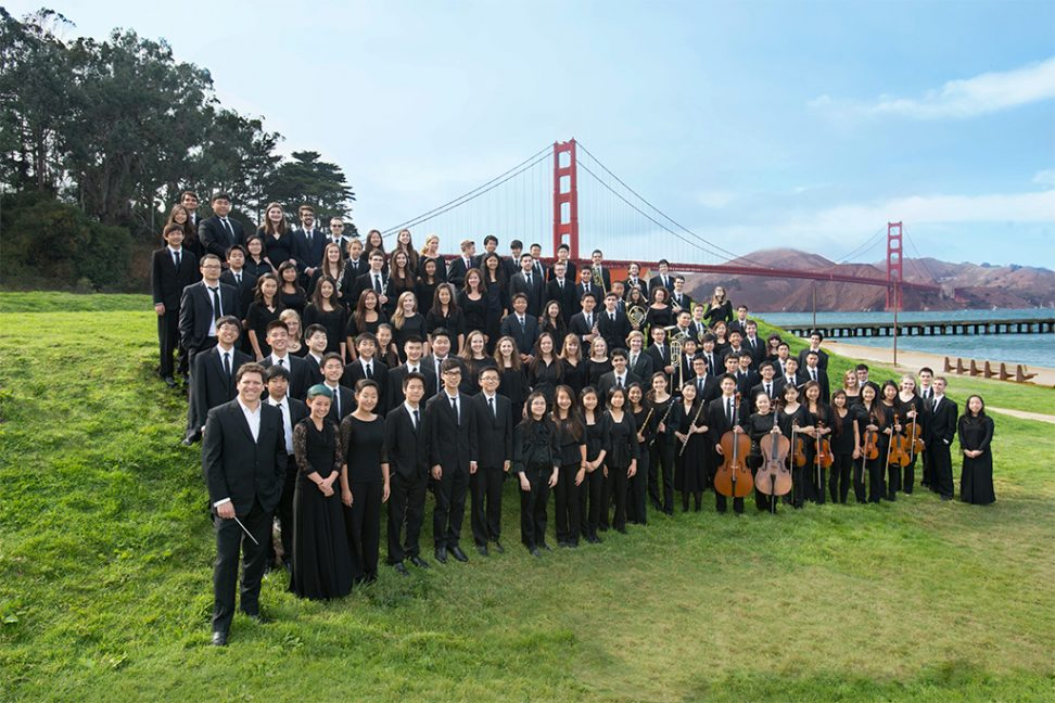 San francisco Symphony Youth Orchestra, 2014. Photo Kristen Loken.