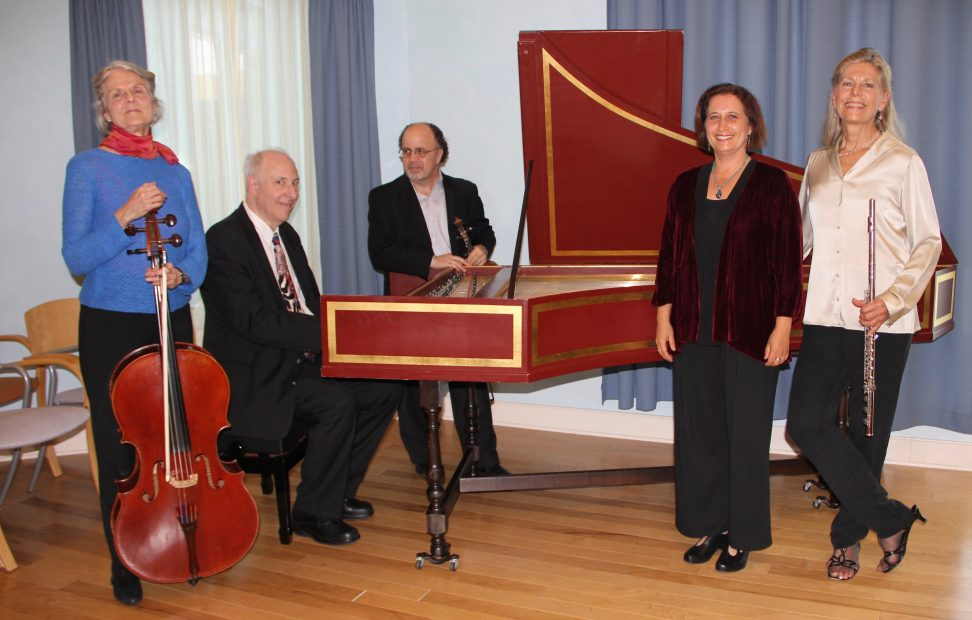 From left to right: Lucy Bardo, Kenneth Cooper, Joel Pitchon, Gili Melamed-Lev, and Judith Mendenhall.