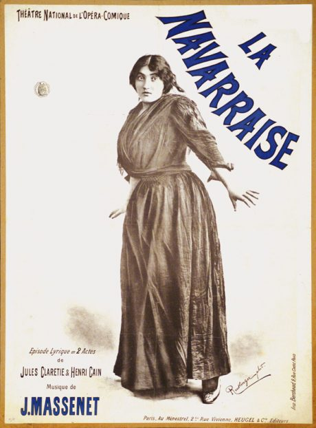 Poster for La Navarraise.