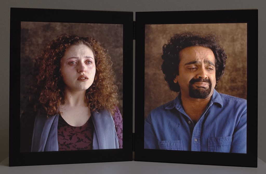 Dolorosa, 2000. Video diptych © Bill Viola. Photo The J. Paul Getty Museum, Malibu.
