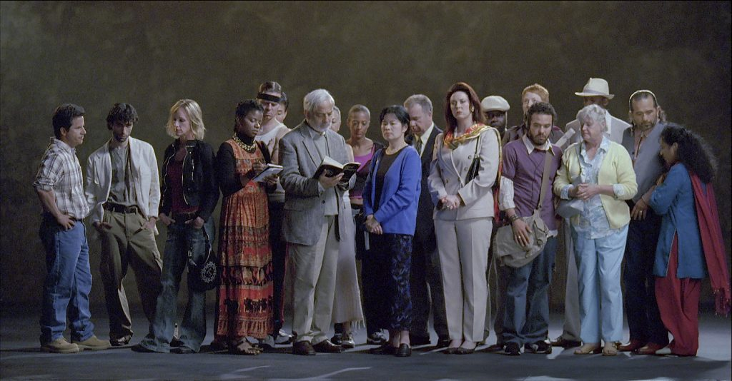 The Raft, May 2004, Video/sound installation. Photo: Kira Perov © Bill Viola.