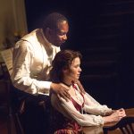 John Douglas Thompson and Maggie Lacey in A Doll's House. Photo Henry Grossman.