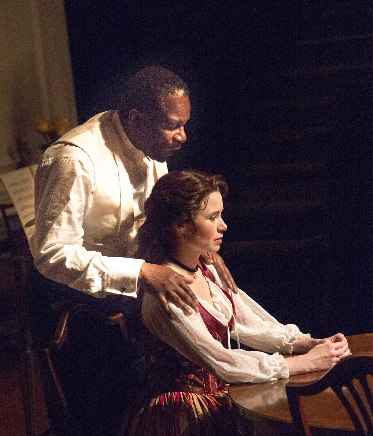 ibsen strindberg and their acolytes a retrospective new york arts john douglas thompson and maggie lacey in a doll s house photo henry grossman