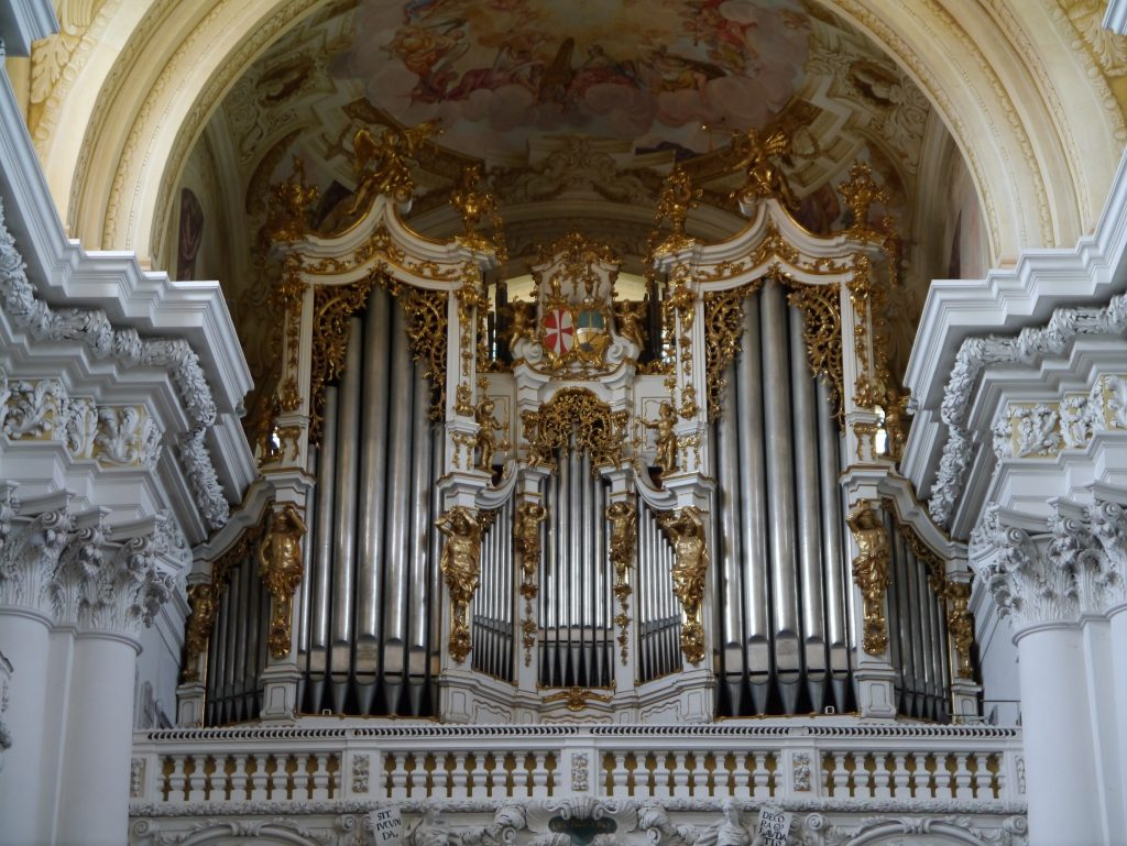 Bruckner's beloved organ at Sankt Florian.