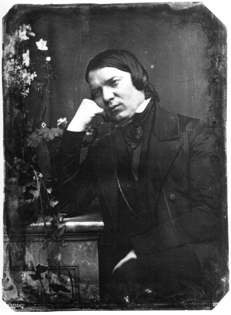 Robert Schumann in 1850
