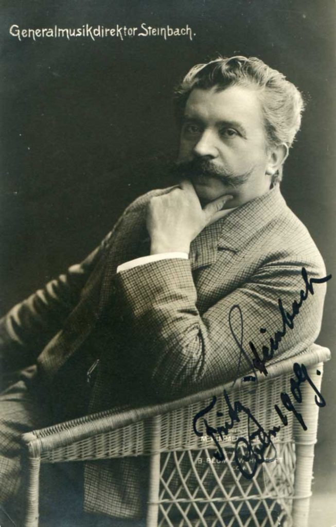 Fritz Steinbach, Music Director of the Meiningen Orchestra