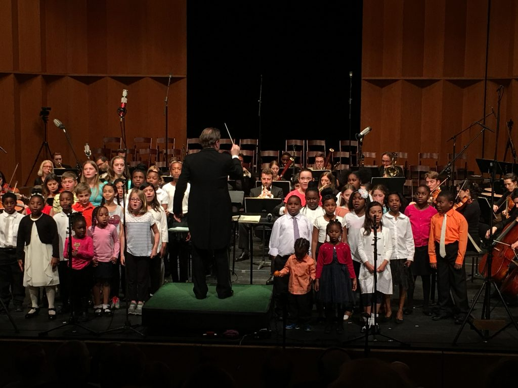 The Children's Chorus. Photo Michael Miller.