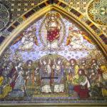 The Ascension by Bell & Beckham. Tiles. All Saints Church, Margaret Street, London. Photo John Pankhurst.