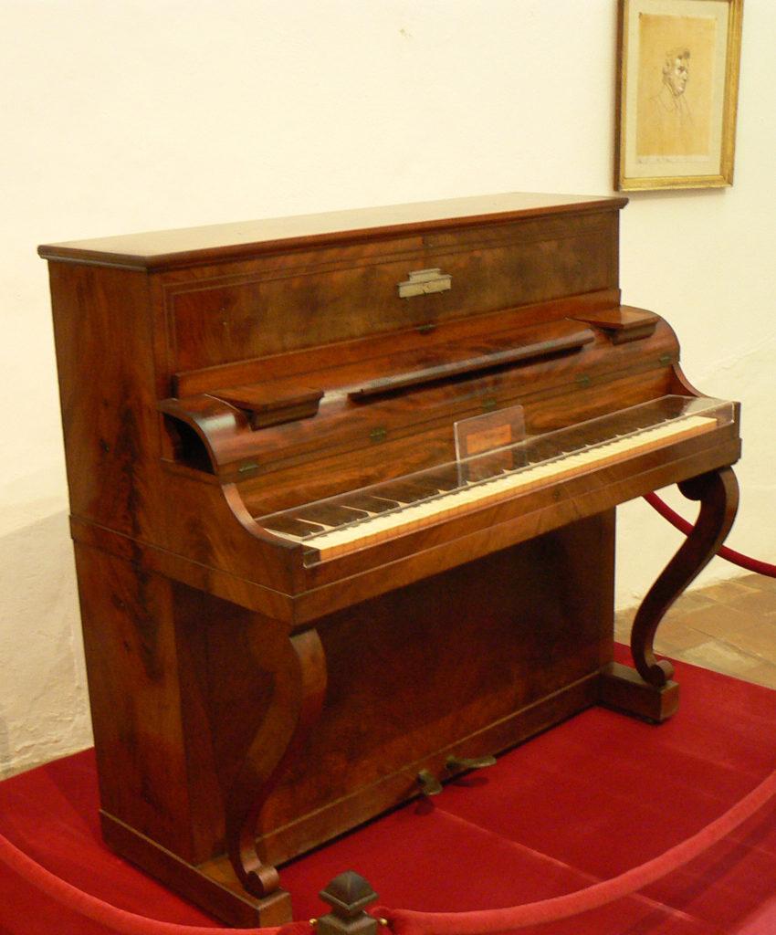 Chopin's Pleyel Pianino. Majorca.