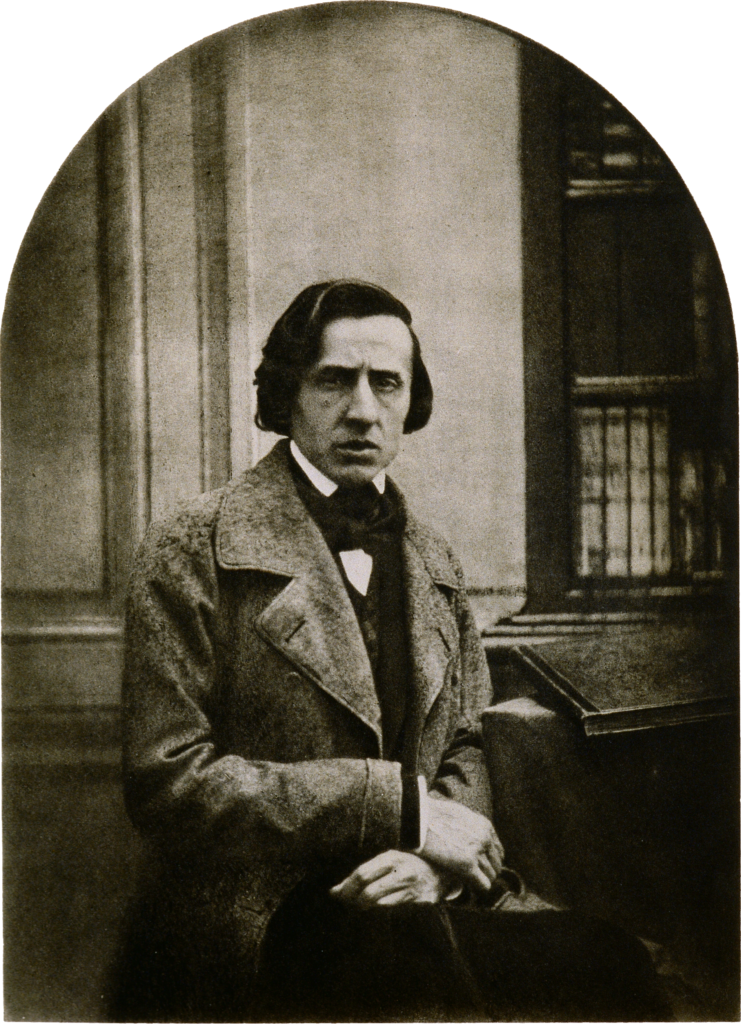 Louis-Auguste Bisson. Portrait of Chopin, 1849, Daguerreotype.