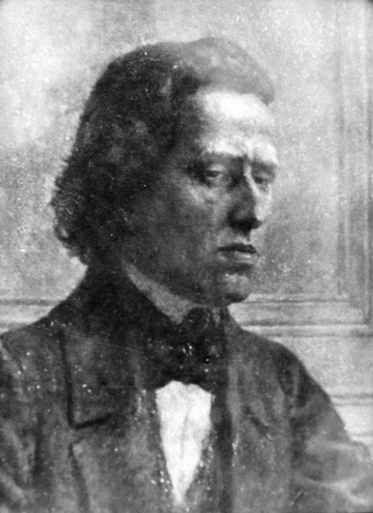 A recently-discovered daguerreotype said to be of Chopin
