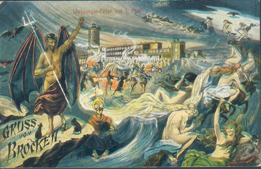 Postcard: Walpurgisnacht