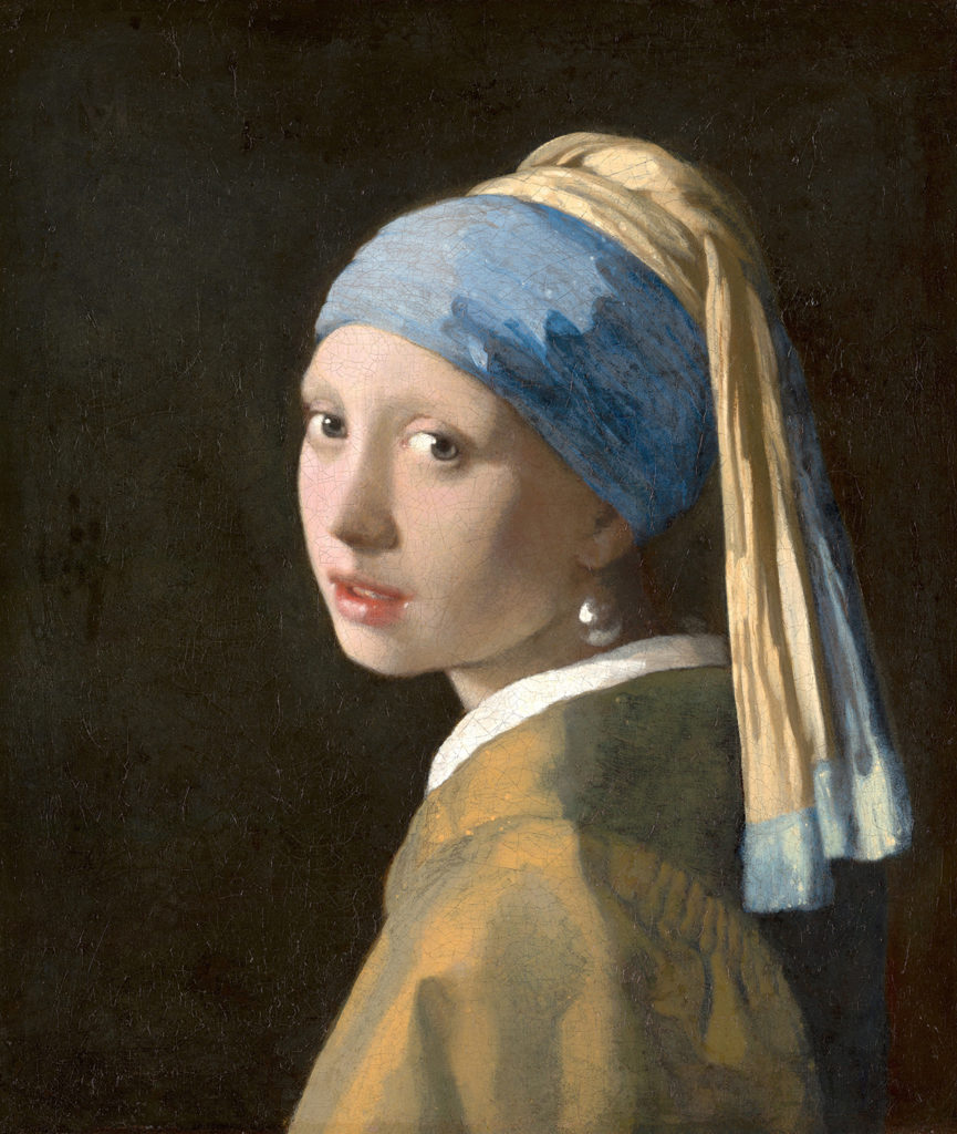 Johannes Vermeer, Girl with a Pearl Earring, c. 1665. Mauritshuis, The Hague.
