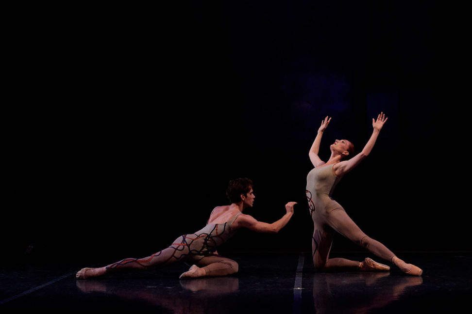 Amanda Treiber and Erez Milatin in Optimists. Photo © Rachel Neville.