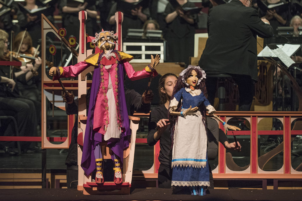 """Hans Christian Andersen's """"The Nightingale"""" performed by the Mock Turtle Marionette Theatre"""
