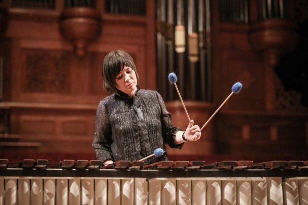 She-e Wu, Marimba Player, Artist-in Residence 2018
