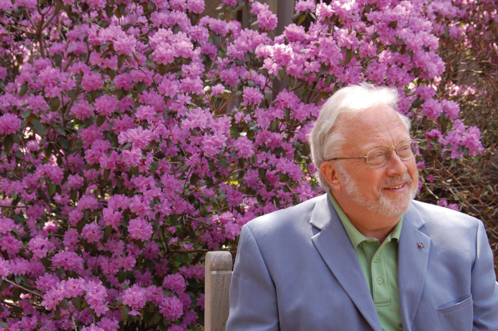 William Bolcom. Photo Katryn Conlin.