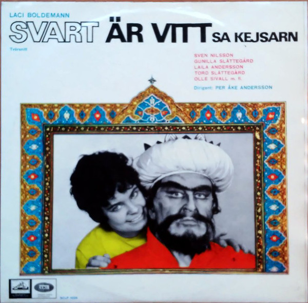 Laci Boldemann, Svart Är Vitt (Black is White)