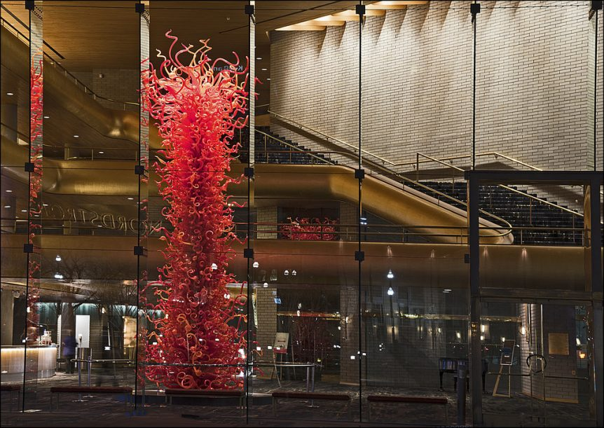 Chihuly, Olympic Tower, Abravanel Hall, Salt Lake City