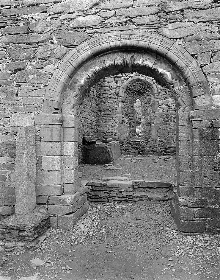 2. Kilmalkedar Church, Portal, 1993. Silver Gelatin Print.
