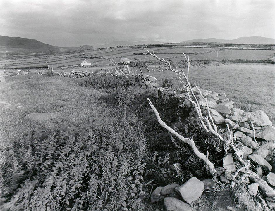 21. Ogham Circle, Ballintaggart, Co. Kerry, 1993. Silver gelatin print.