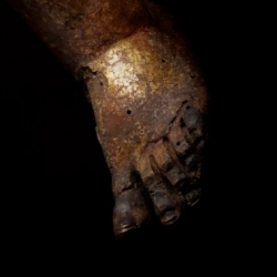 Butterfield Spiritello (Detail: toes of left foot)