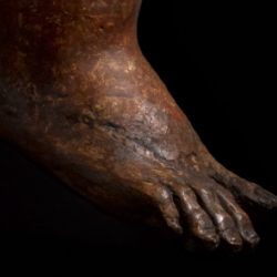 Butterfield Spiritello (Detail: toes of right foot)
