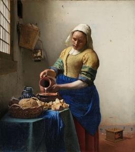 Johannes Vermeer, The Milkmaid, ca. 1660