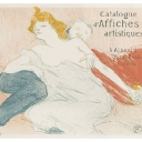 5. Lot 154. Toulouse-Lautrec, Henri De (1864-1901), Catalogue D'affiches Artistiques. A. Arnould Lithograph in colors, 1896, condition A, framed. 