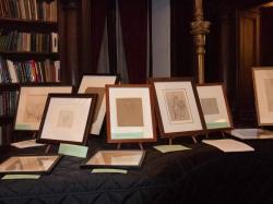 Drawings by Heinrich Schwemminger. Photo Joanna Gabler.