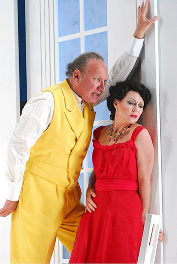 James Johnson and Deanne Meek in Alexander von Zemlinsky's Ein Florentinische Tragödie at Bard.
