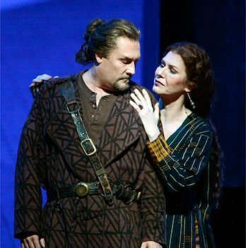 Tristan and Isolde at the Met.