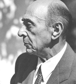 Arnold Schoenberg in Los Angeles, 1948