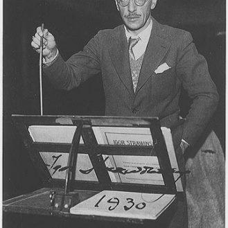 Igor Stravinsky in 1930