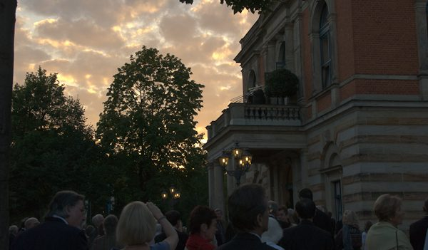 Fanfare at Bayreuth. Photo Michael MIller.