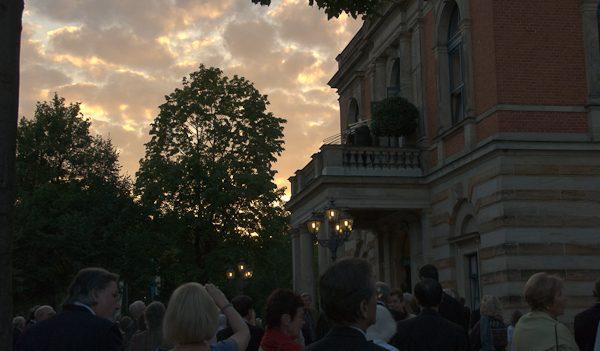 Fanfare at Bayreuth. Photo Michael MIller.