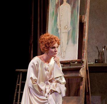 Marlis Petersen as Lulu in Berg's Opera. Photo Ken Howard/Metropolitan Opera.