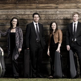 The Tinalley String Quartet.