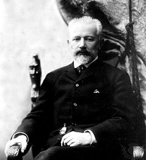Pyotr Ilyich Tchaikovsky, 1890. From the Tchaikovsky House Museum, Klin.
